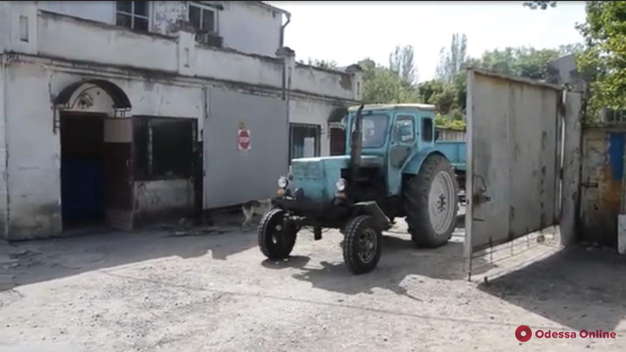 На поселке Котовского открылась площадка для сбора крупногабаритного мусора