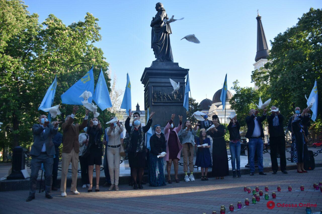 Одесситы почтили память жертв депортации крымских татар