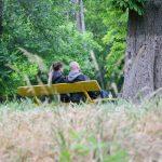 Будний день в Дюковском саду