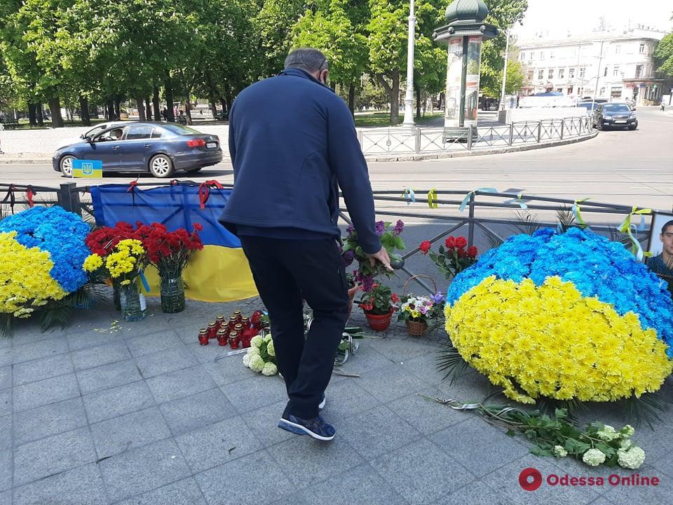 Одесситы почтили память первых жертв трагедии 2 мая в центре города