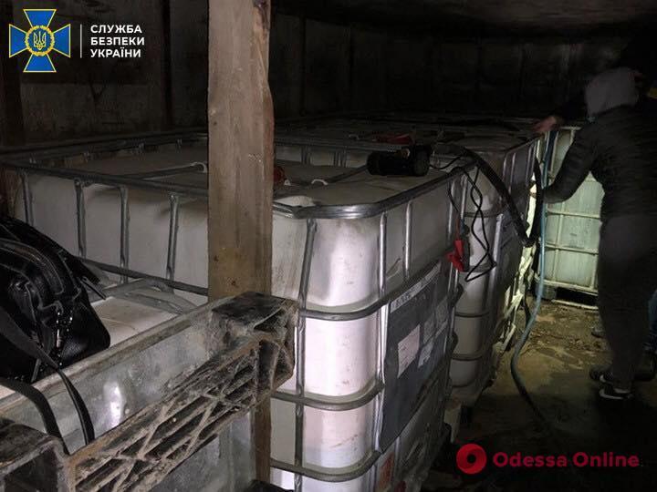 В Одесской области СБУ блокировала контрабанду спирта из Приднестровья