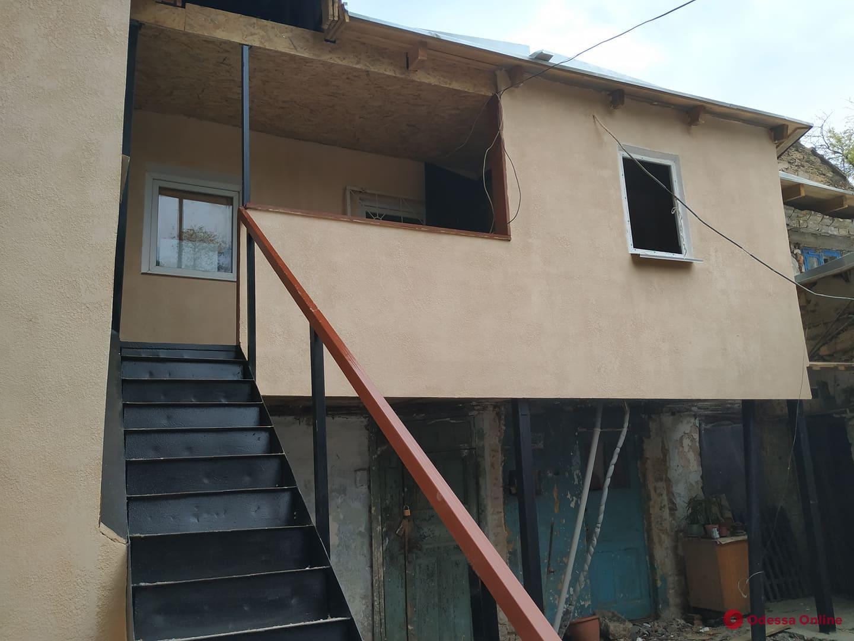На Молдаванке отремонтировали разрушенный во время февральского урагана дом (фото)