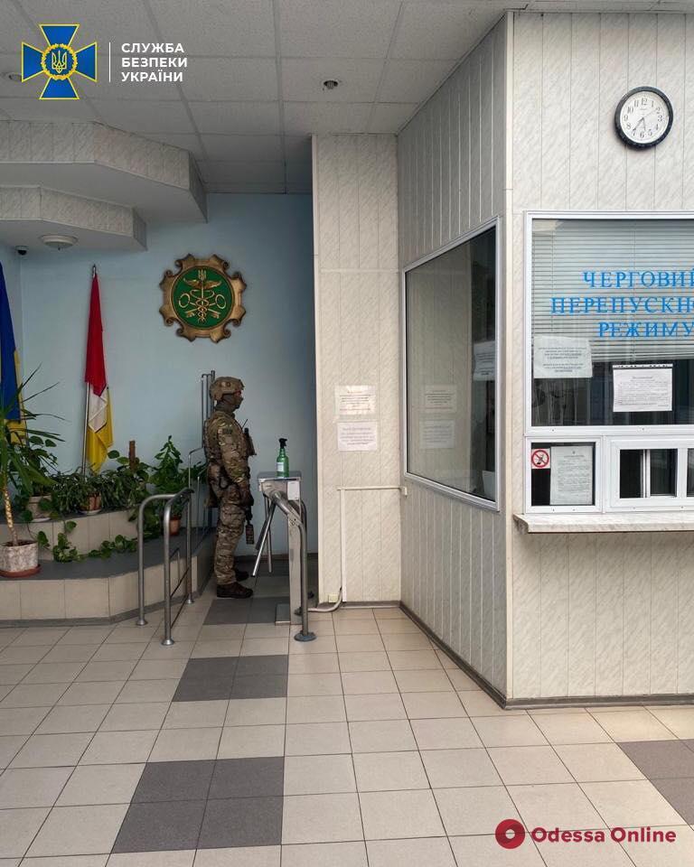 В СБУ рассказали подробности коррупционной схемы на Одесской таможни