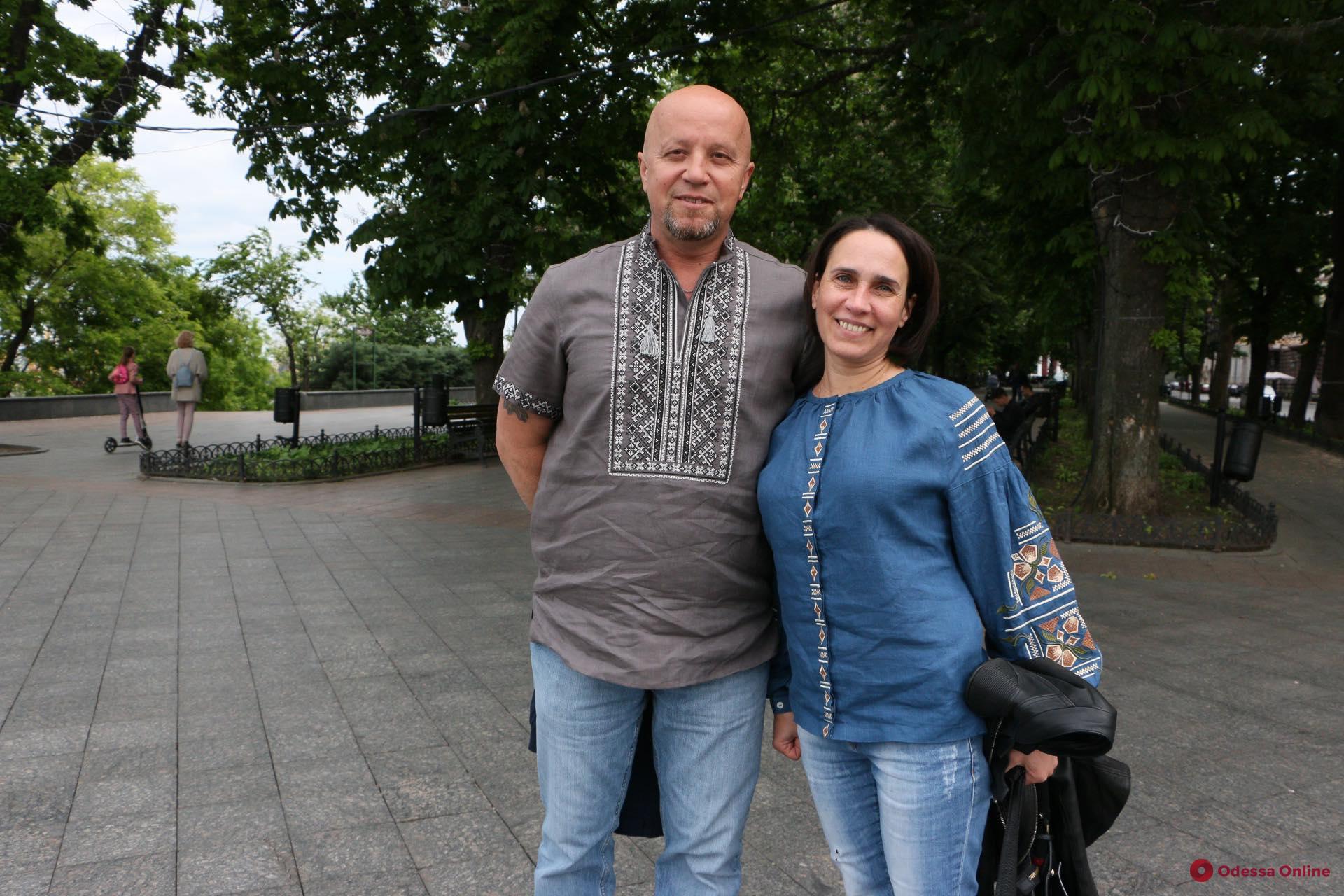 В Одессе отмечают День вышиванки (фоторепортаж)