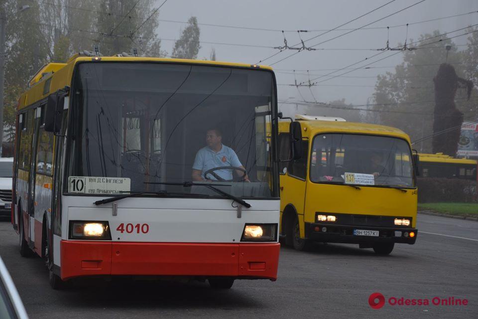 Из-за обвала дома на Торговой по маршруту троллейбуса №2 будет ходить электробус