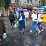 Дождливый день в Одессе