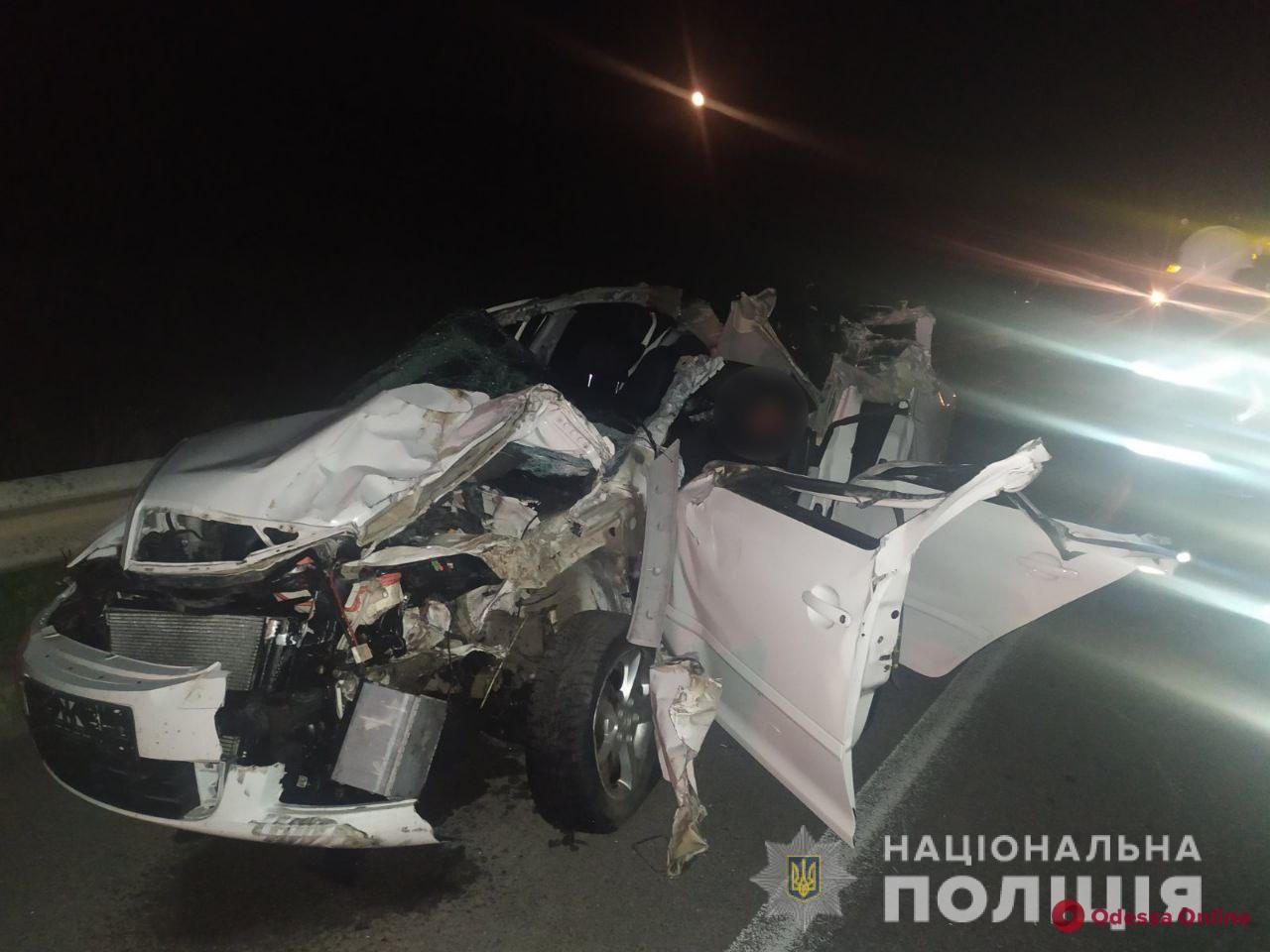 На трассе Одесса-Киев произошло смертельное ДТП (фото)