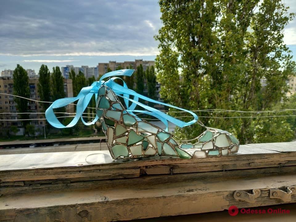 «Золушкин хрустальный башмачок»: работа одесситки отправилась в музей США