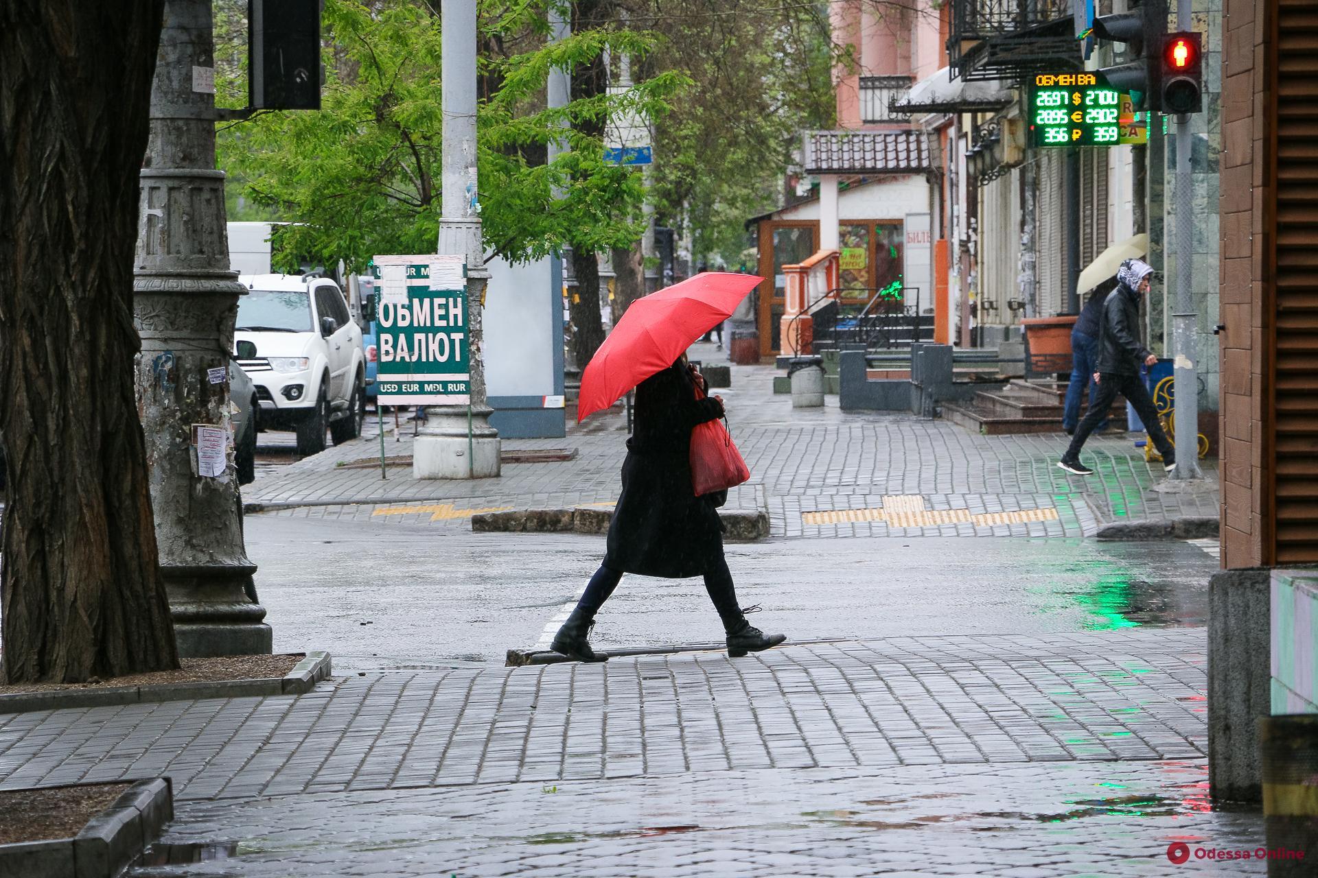 Первый майский дождь в Одессе (фоторепортаж)