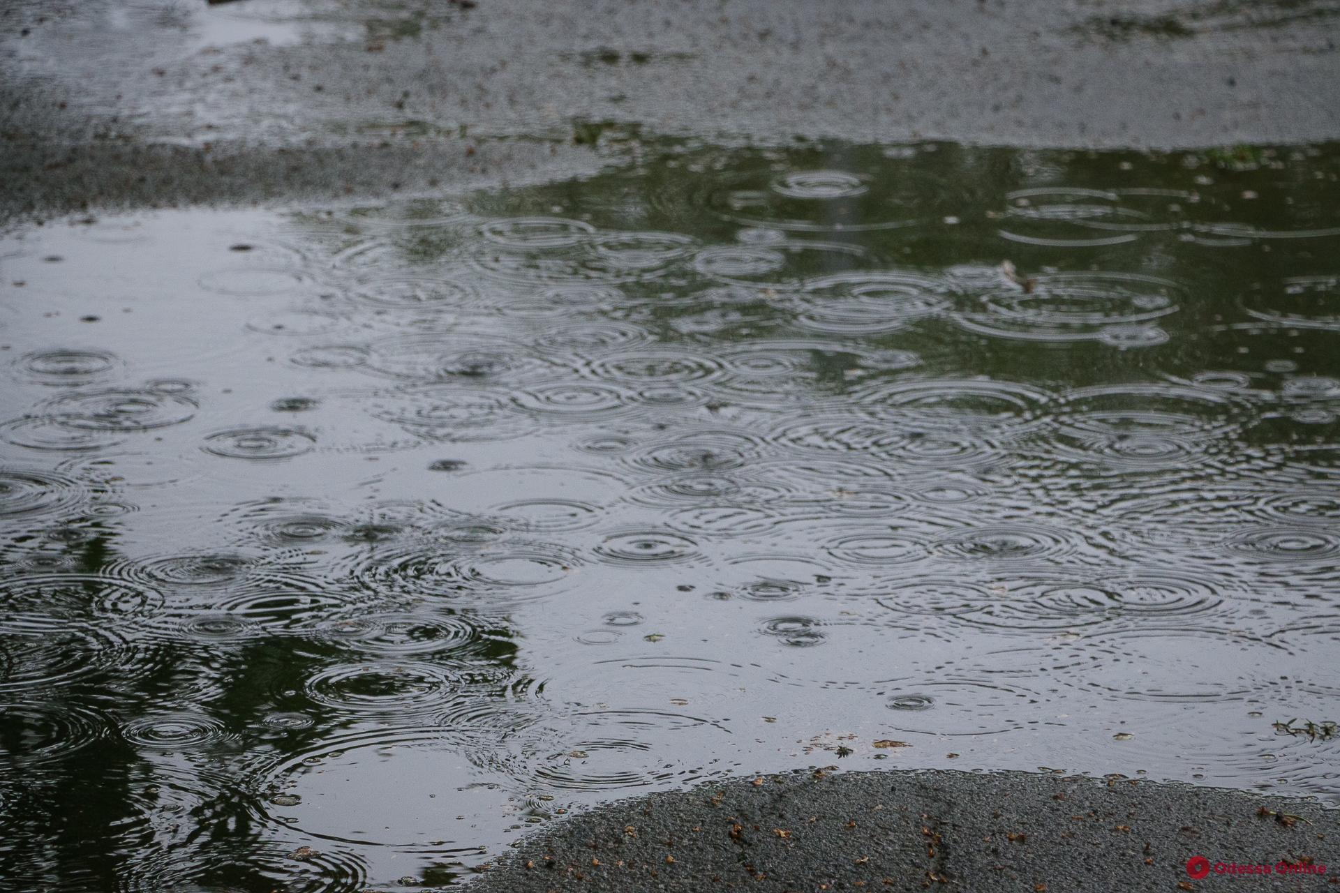 Ночью в Одессе ожидается дождь и гроза