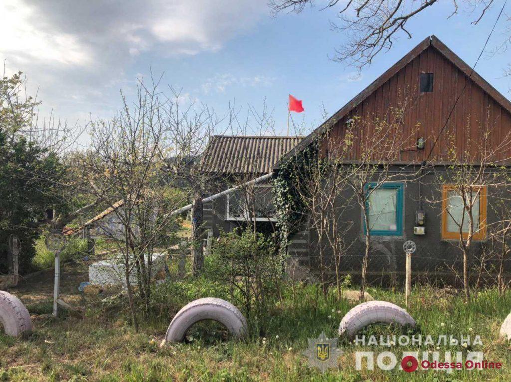 Житель Одесской области вывесил у себя на доме советский флаг (обновлено)