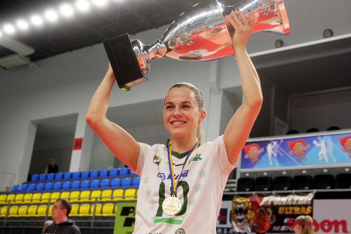 СпортКарантин: капитан волейбольного клуба «Химик» Дарья Степановская
