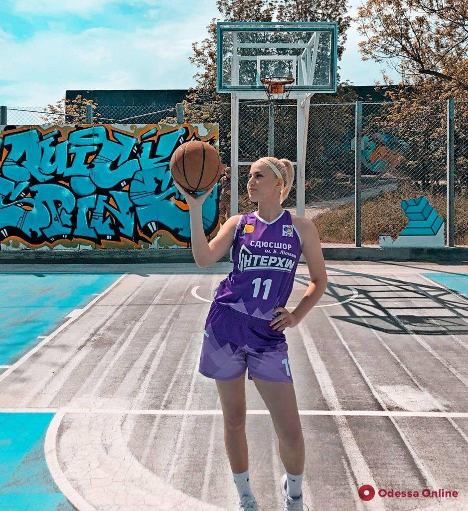 Одесситка признана самой красивой баскетболисткой Украины