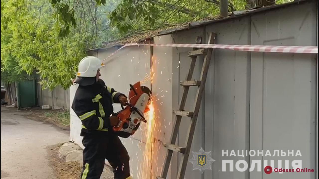 Одесса: на Черемушках нашли обгоревший труп (обновлено)