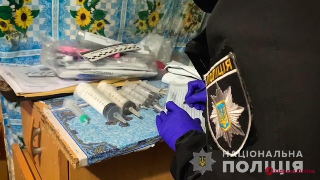 Житель Одесской области устроил домашнюю нарколабораторию