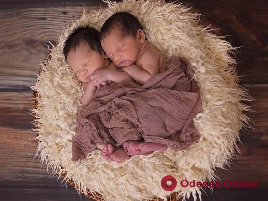 В Одессе на минувшей неделе родились четыре пары близнецов