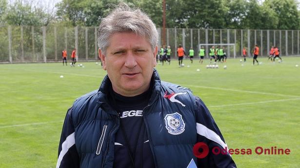 Официально. «Черноморец» подтвердил подписание контракта с новым главным тренером