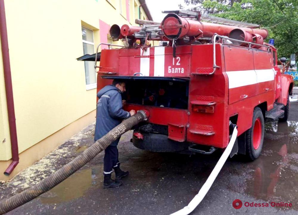 В Одесской области из-за ливня затопило детский сад