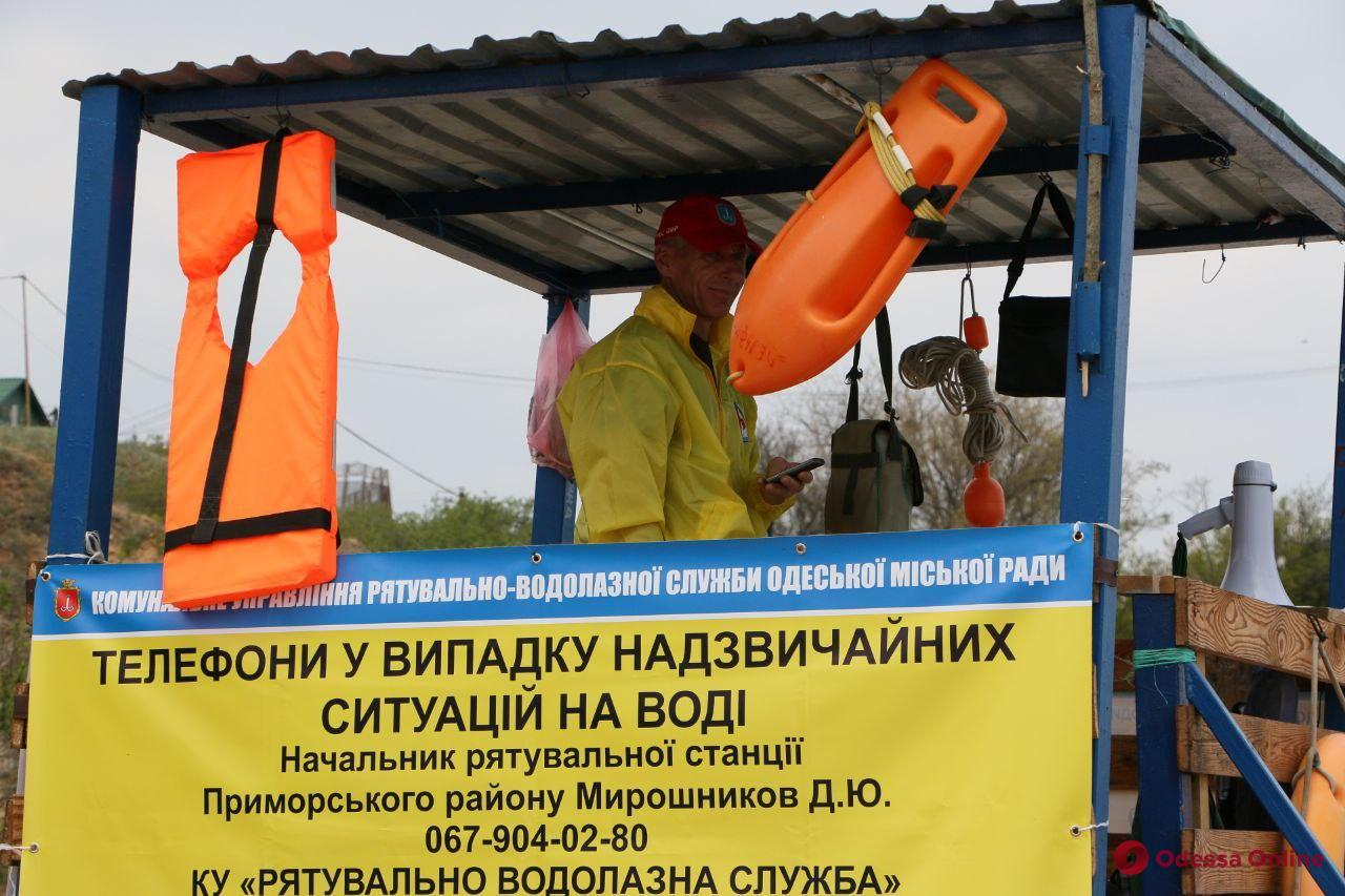 Одесса: с начала курортного сезона на пляжах спасли 57 человек