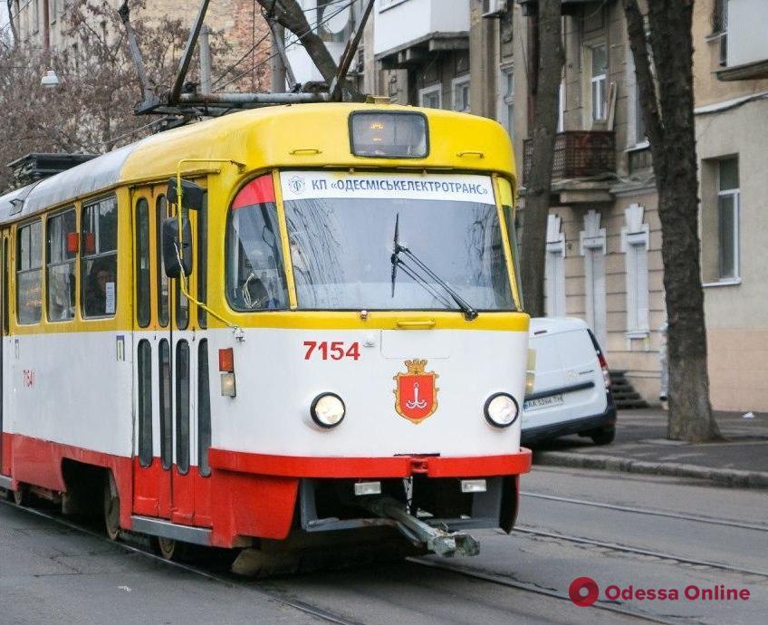 Одесса: трамвай №13 возобновил работу