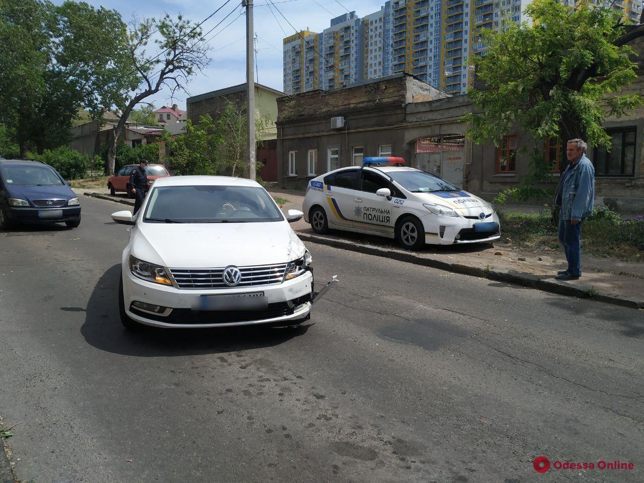 На Бабеля столкнулись четыре авто