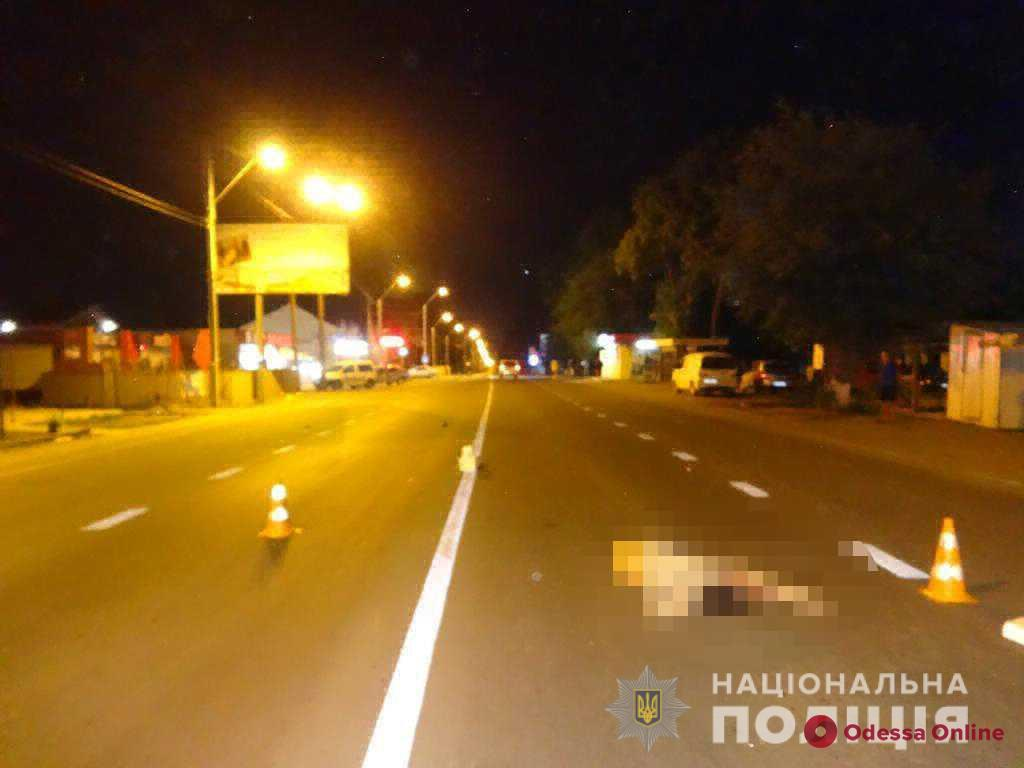 Под Одессой Nissan насмерть сбил пешехода