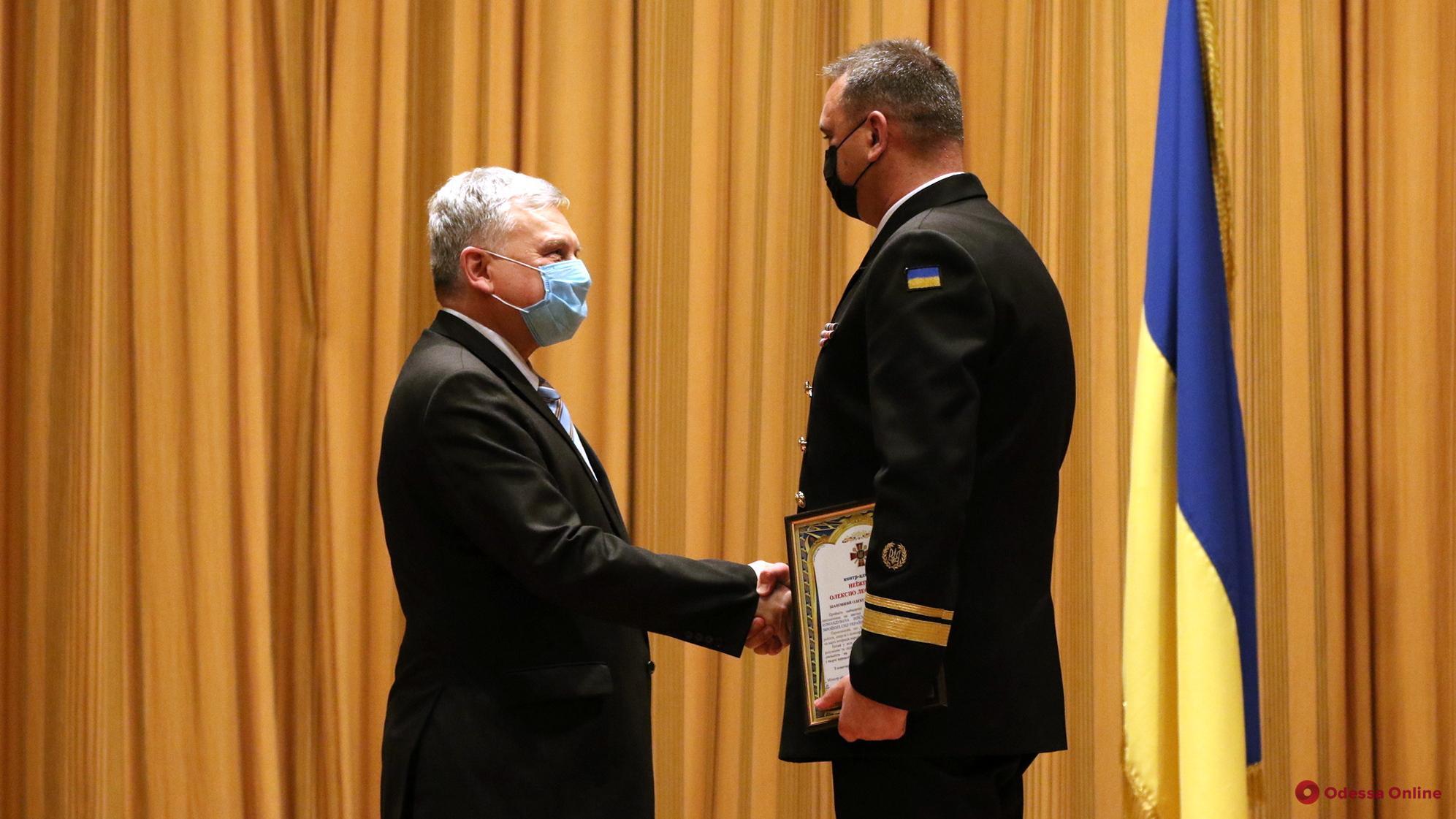 В Одессе представили нового командующего ВМС Украины