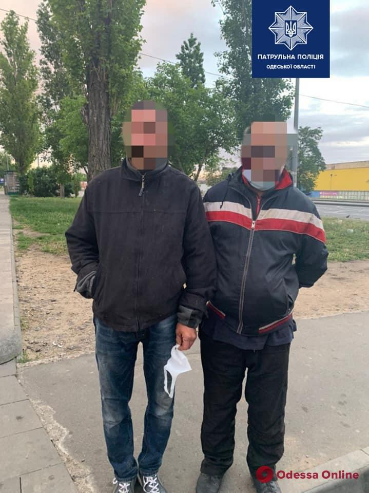 На Молдаванке патрульные задержали угонщиков авто