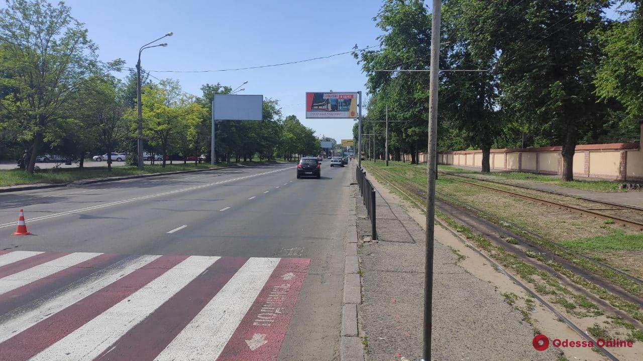В Одессе на пешеходном переходе Daewoo сбил женщину