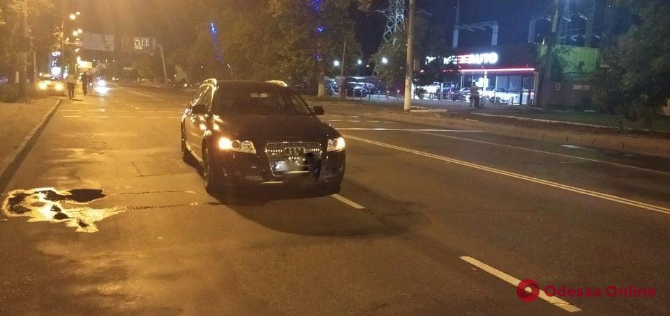 На Краснова Audi на пешеходном переходе сбил 12-летнюю девочку
