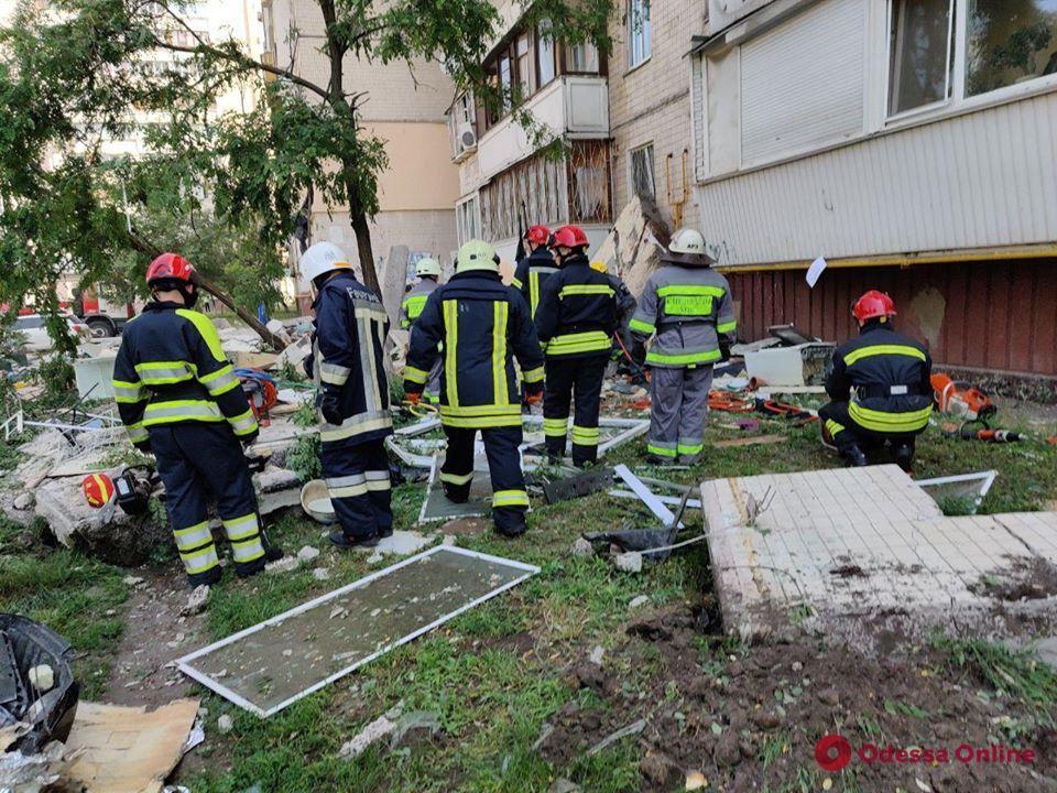 В Киеве произошел мощный взрыв в многоэтажке (фото)