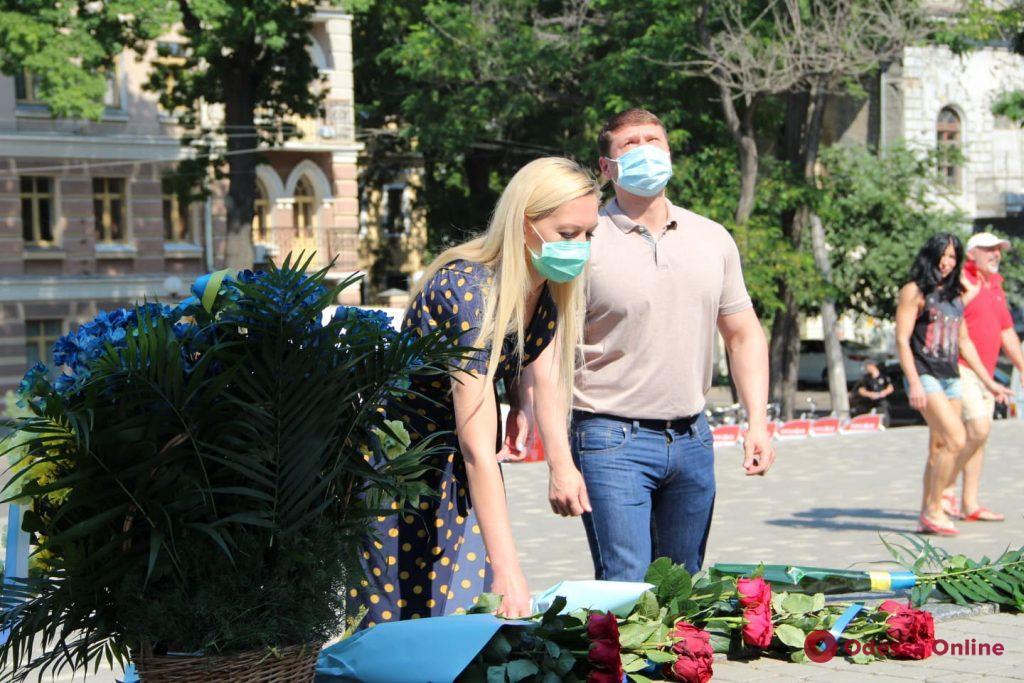 В Одессе отмечают День Конституции Украины (фото)