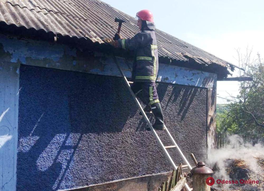 В Одесской области оставленный без присмотра ребенок устроил пожар