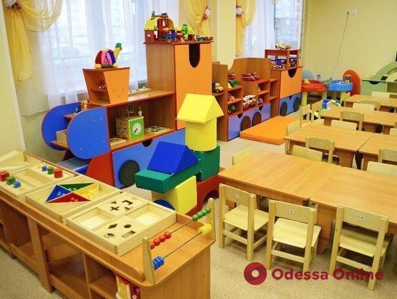 В Одессе с соблюдением карантинных норм заработали 133 детских садика