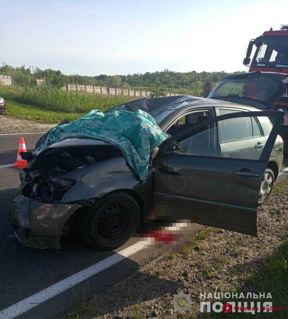 В ДТП на трассе Одесса—Южный погиб мотоциклист