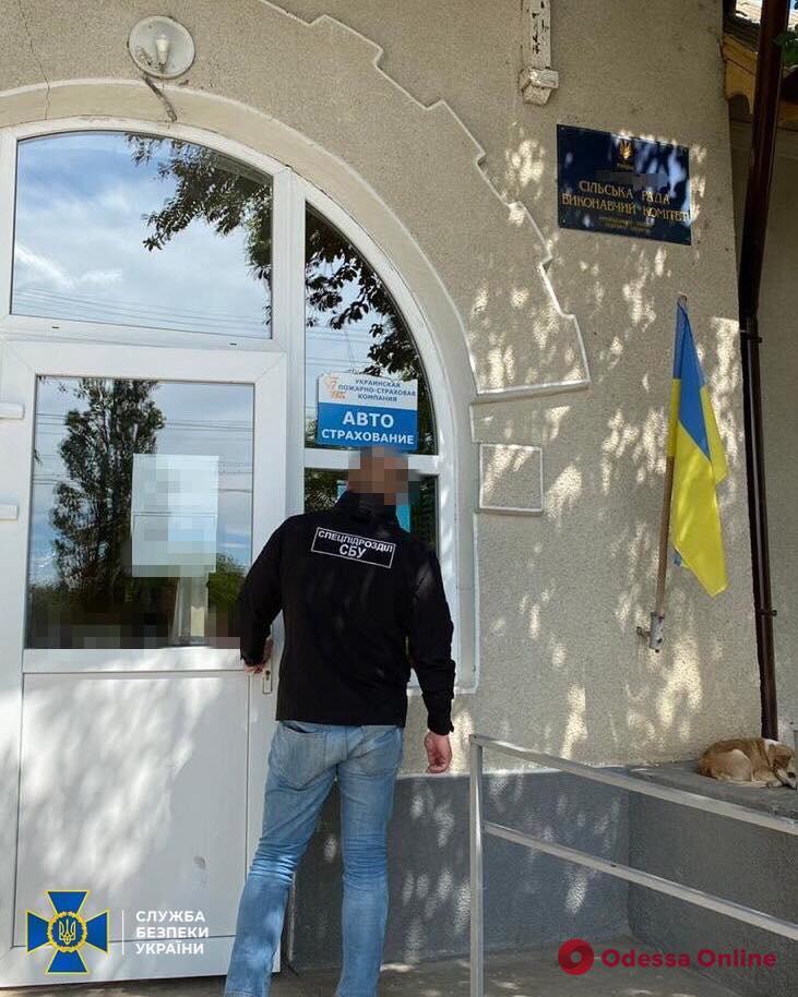 В Одесской области сотрудники СБУ поймали на взятке землераспорядительницу одного из сельсоветов
