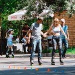 Жаркий день в парке Шевченко