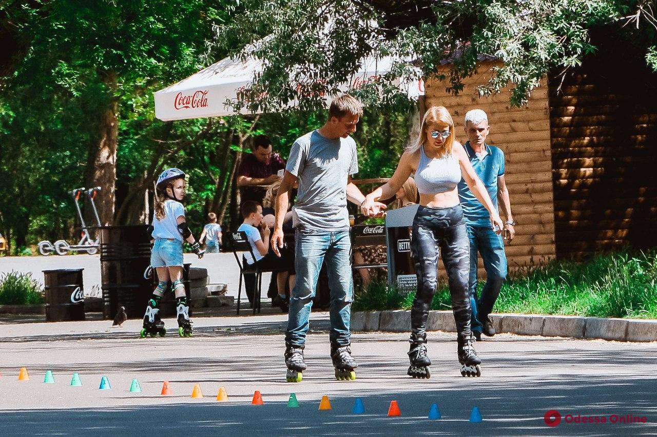 Жаркий день в одесском парке Шевченко (фоторепортаж)