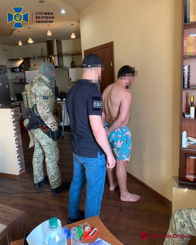 В Одессе СБУ блокировала деятельность группировки наркоторговцев