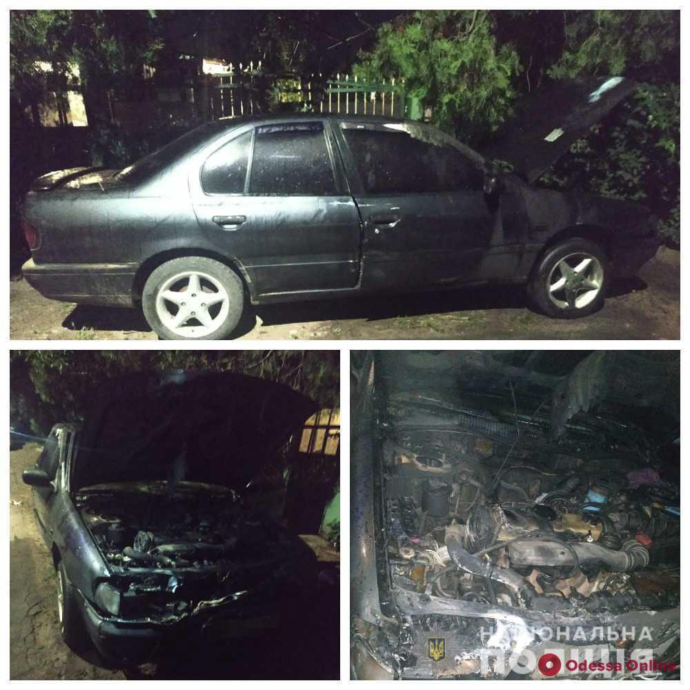 Житель Одесской области вспомнил старые обиды на девушку и поджег автомобиль ее парня