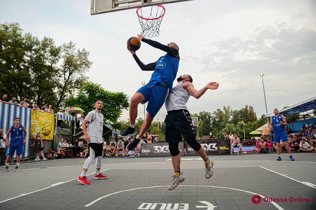 Одесские команды – в числе победителей и призеров этапа чемпионата Украины по баскетболу 3х3