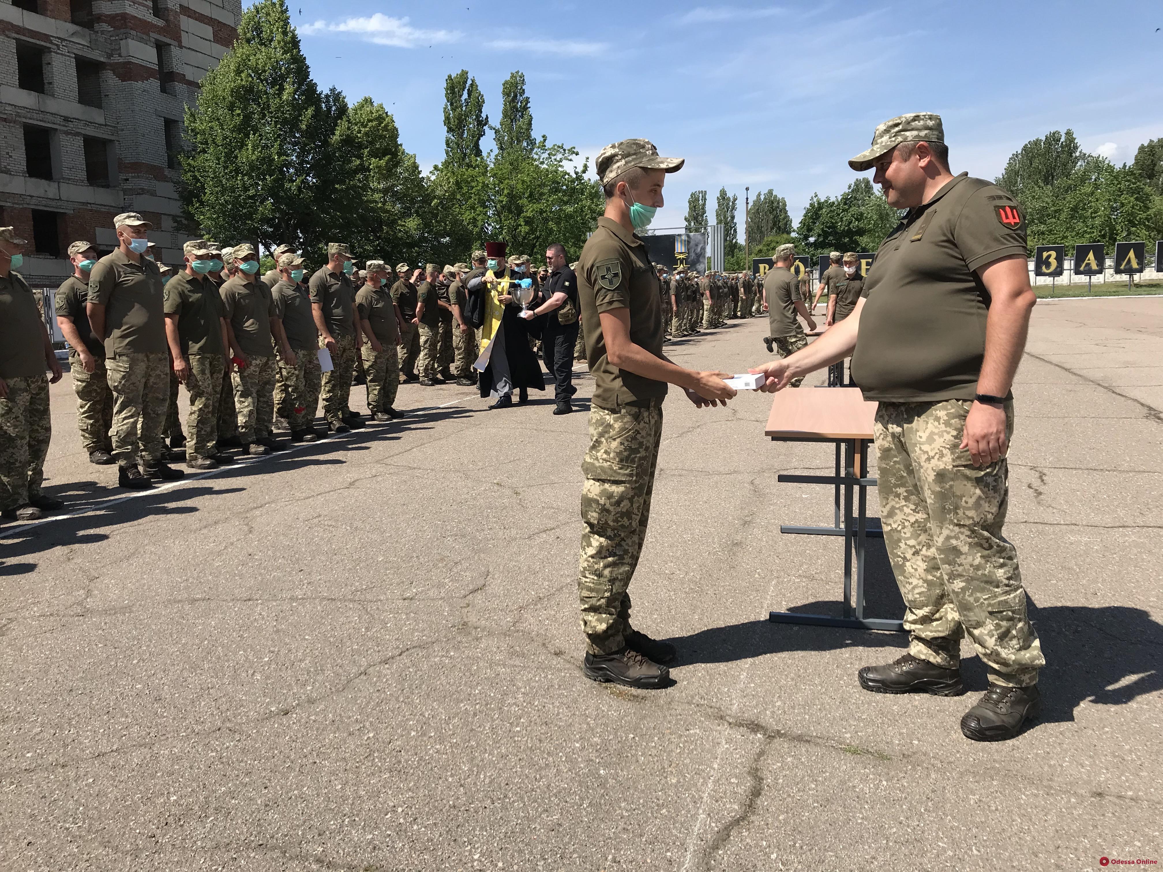 Одесская мехбригада вернулась домой после ротации на Донбассе (фото, видео)