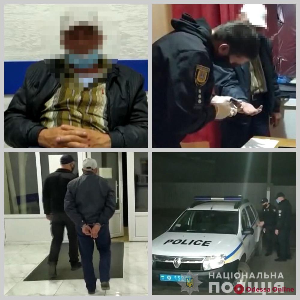 В Одесской области задержали насильника-рецидивиста
