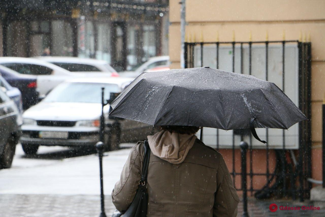 В понедельник в Одессе ожидается дождь