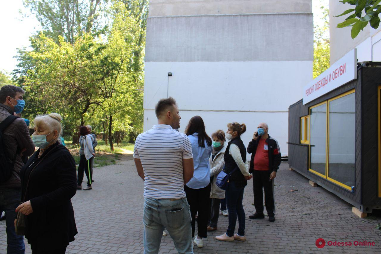 На Крымской «вырос» неопределившийся МАФ — местные жители вышли на пикет (обновлено)