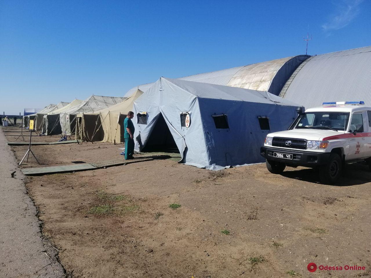 Угроза подтопления: в Одесской области спасатели развернули палаточный городок в районе Днестра