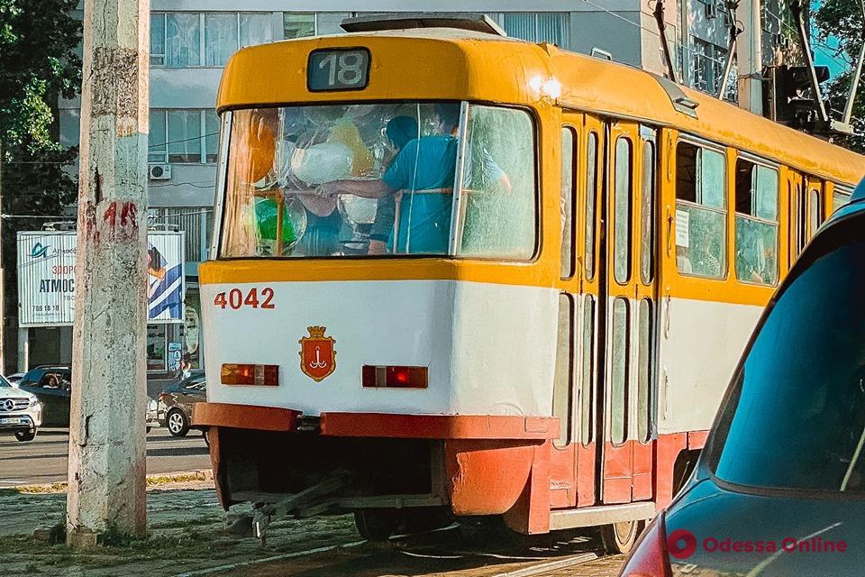 Одесса: с 1 августа трамвай №18 будет ходить по сокращенному маршруту