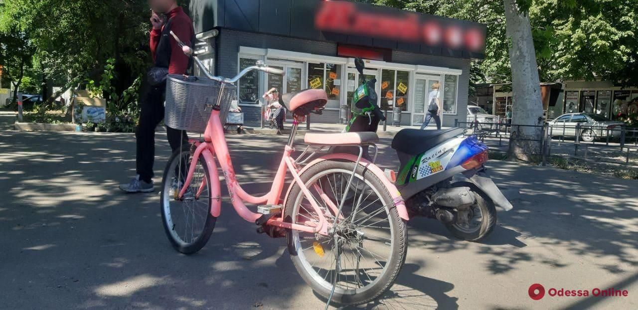 В ДТП на Малиновского пострадала велосипедистка