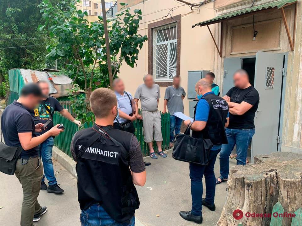 В Одессе задержали группу автоугонщиков (фото, видео)