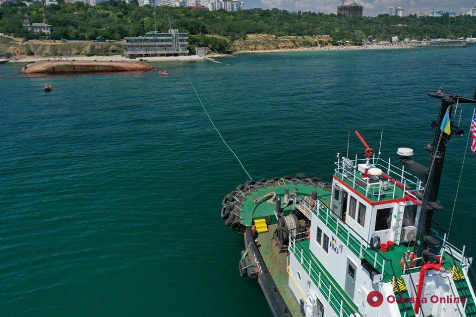 Владельцы «Делфи» отчитались о ходе работ по подъему судна